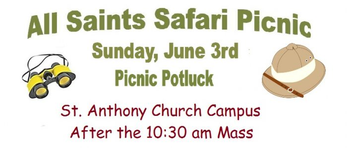 All Saints Safari Picnic | All Saints Catholic Parish